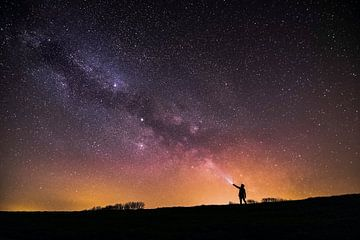 Milky Way galaxy van Marcel Hof