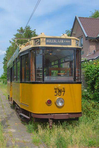 Antieke Tram van Peter Bartelings