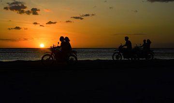 Sonnenuntergangsmotoren von Daniek Vermeer