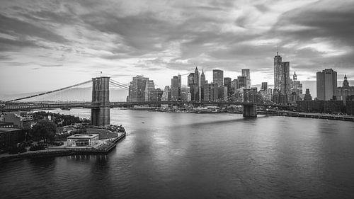 New York City Lights (B&W) van