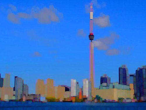 16. City-art, Abstract, Toronto - B. van Alies werk