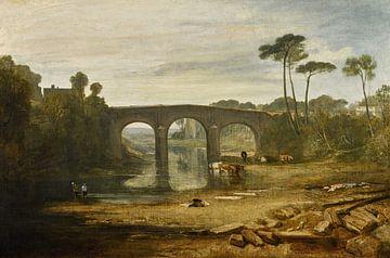 Whalley Bridge and Abbey, Lancashire, Joseph Mallord William Turner