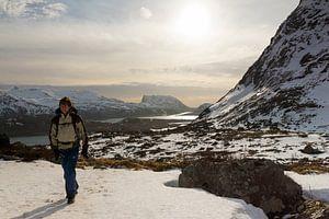 Winterwandeling op de Lofoten