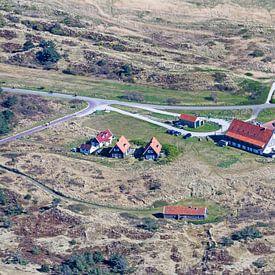 Les Posthuys à Vlieland sur Roel Ovinge