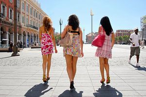 Girls in Nice
