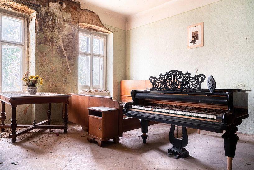 Schönes verlassenes Klavier. von Roman Robroek