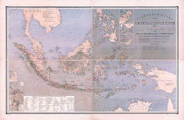 Niederländisch-Ostindien 1870 von Atelier Liesjes