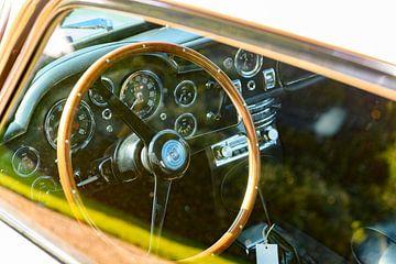 Aston Martin DB5 intérieur sur Sjoerd van der Wal