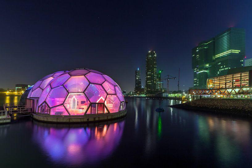 Rotterdam Drijfend Paviljoen van Peter Bolman