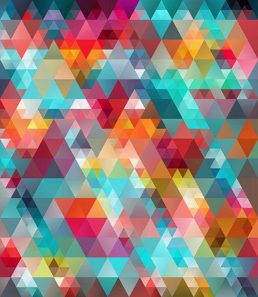 Composition abstraite 602 van Angel Estevez