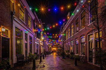 Partybeleuchtung in Haarlem. von Remco Piet