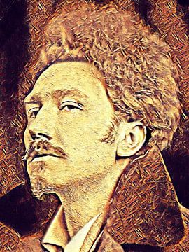 YOUNG EZRA POUND - American Poet van Jean-Louis Glineur alias DeVerviers