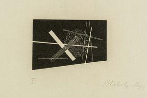 Bauhaus, Compositie (kruis en cirkel) - László Moholy-Nagy, 1923