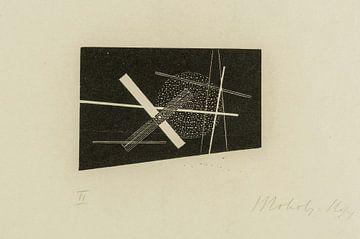 Bauhaus, Komposition (Kreuz und Kreis) - László Moholy-Nagy, 1923 von Atelier Liesjes
