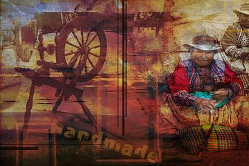 Traditioneel handwerk, Zuid Amerika van Rietje Bulthuis