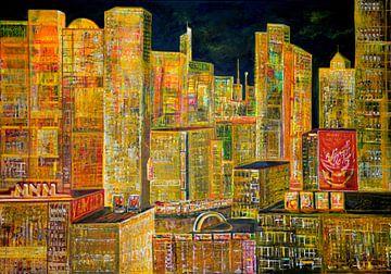 Licht van de stad van Matthias Rehme
