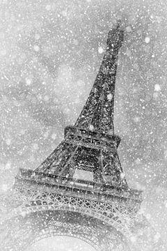 PARIS Tour Eiffel | fabuleuse magie hivernale sur Melanie Viola