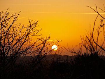 Zonsondergang op Terschelling sur Rinke Velds