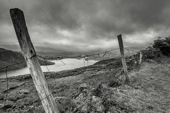 versleten hek, Ierland