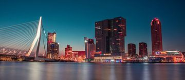 Rotterdam Skyline van Ivor Baak