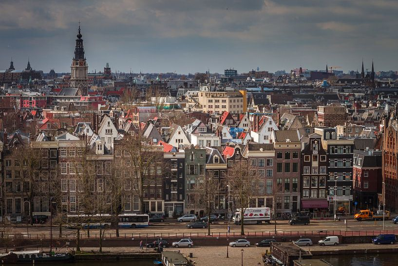 Amsterdam vanuit de lucht van Hamperium Photography