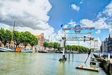 Dordrecht, wolwevershaven. von Jeroen van Alten