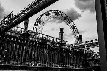 De oude fabriek van Joerg Keller