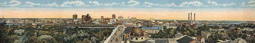 Florida, panoramisch uitzicht van World Maps