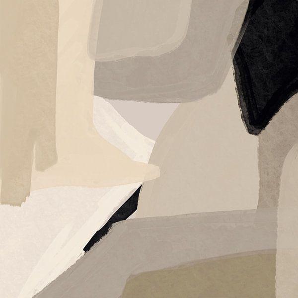 Modern abstract - coire van YOPIE illustraties