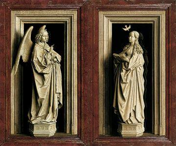 Das Verkündigungsdiptychon, Jan van Eyck