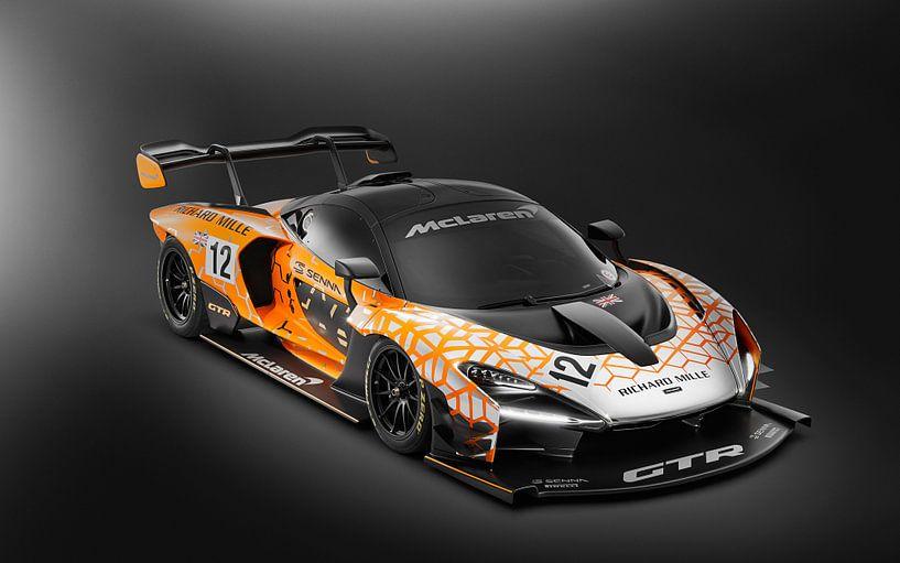 McLaren Senna GTR Concept Studio racecar sur Atelier Liesjes