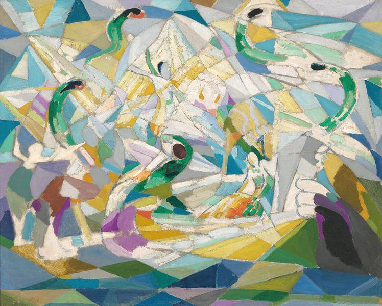 Joseph Stella~De Rosenkavalier van finemasterpiece