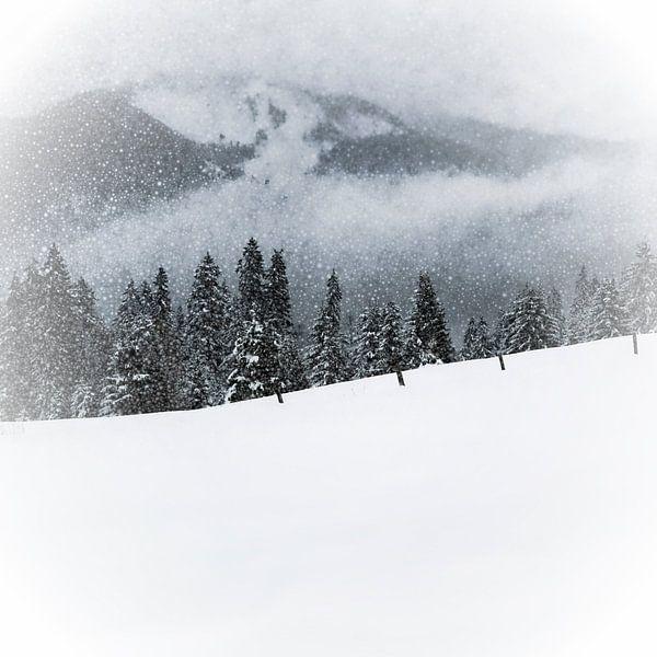 Bavarian Winter's Tale V van Melanie Viola