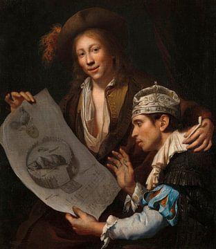 Allegorie auf die französische Invasion von 1672, Johannes van Wijckersloot