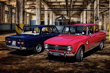 Zwei Alfa Romeo Giulia von Berthold Werner