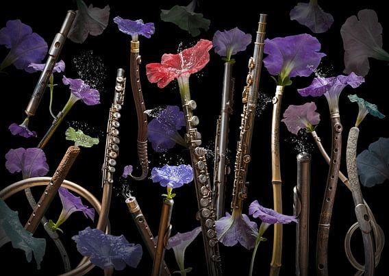 Fluta petunia van Olaf Bruhn