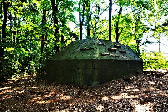 Bunker in het Kocherbos