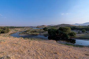 Iran: Zarrineh rivier (Shahin Dezh) van Maarten Verhees