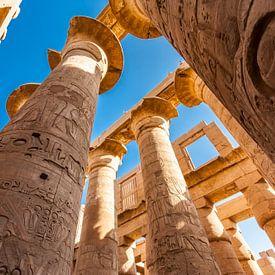 Tempel van Karnak van Koen Henderickx