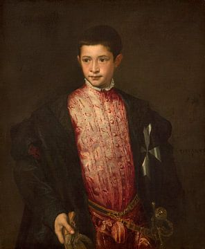 Ranuccio Farnese, Titiaan