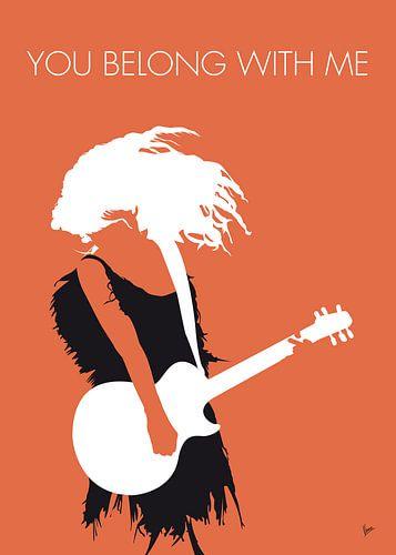 No043 MY TAYLOR SWIFT Minimal Music poster