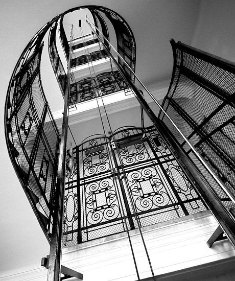 Staircase in Vienna van Wouter Sikkema