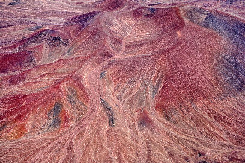 Colours of Water,  Dark Mountain, Navajo Nation, Arizona, USA van Marco van Middelkoop