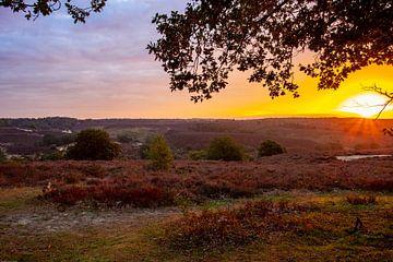 Sonnenaufgang Posbank von Paul Vergeer
