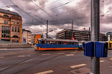 Tatra Bahn in Chemnitz von Johnny Flash