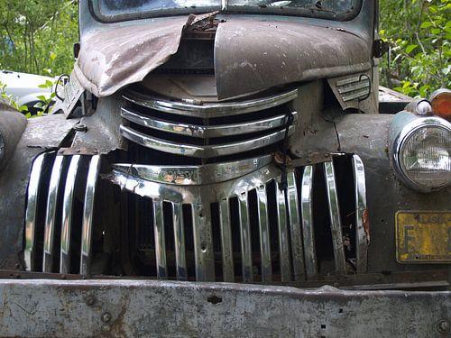Old Chevy - Alaska  van