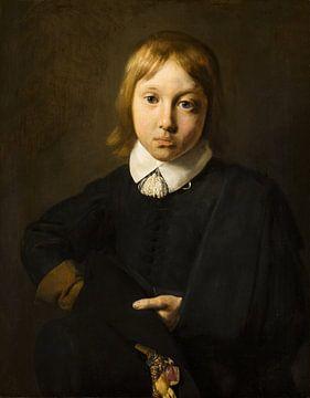 Porträt eines Jungen, sechs Jahre alt, Jan de Bray