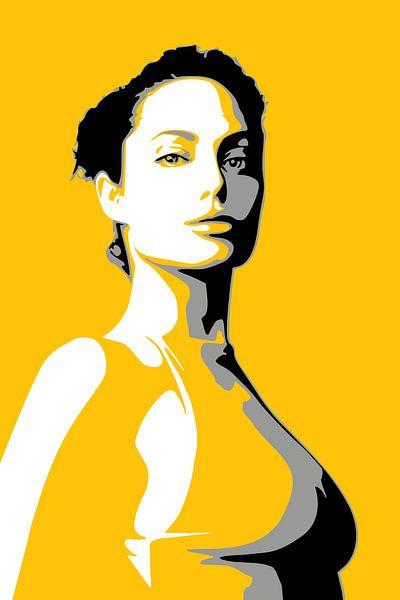 Angelina Jolie van Harry Hadders