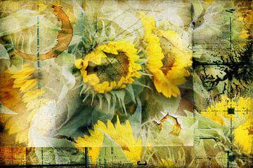 Sunflower von Yvonne Blokland
