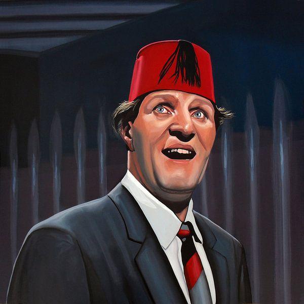 Tommy Cooper schilderij van Paul Meijering